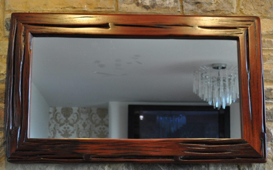 Mitred Jarrah Mirror