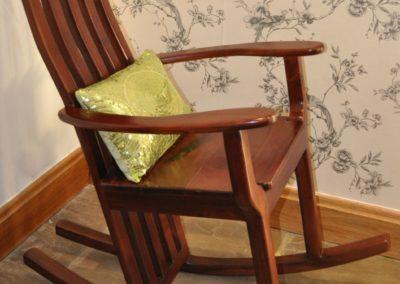 Rocking chair in Mukwa