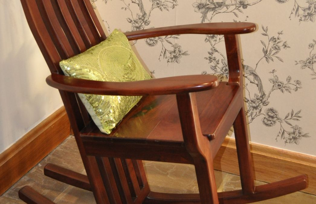 Railway Sleeper Rocking Chair
