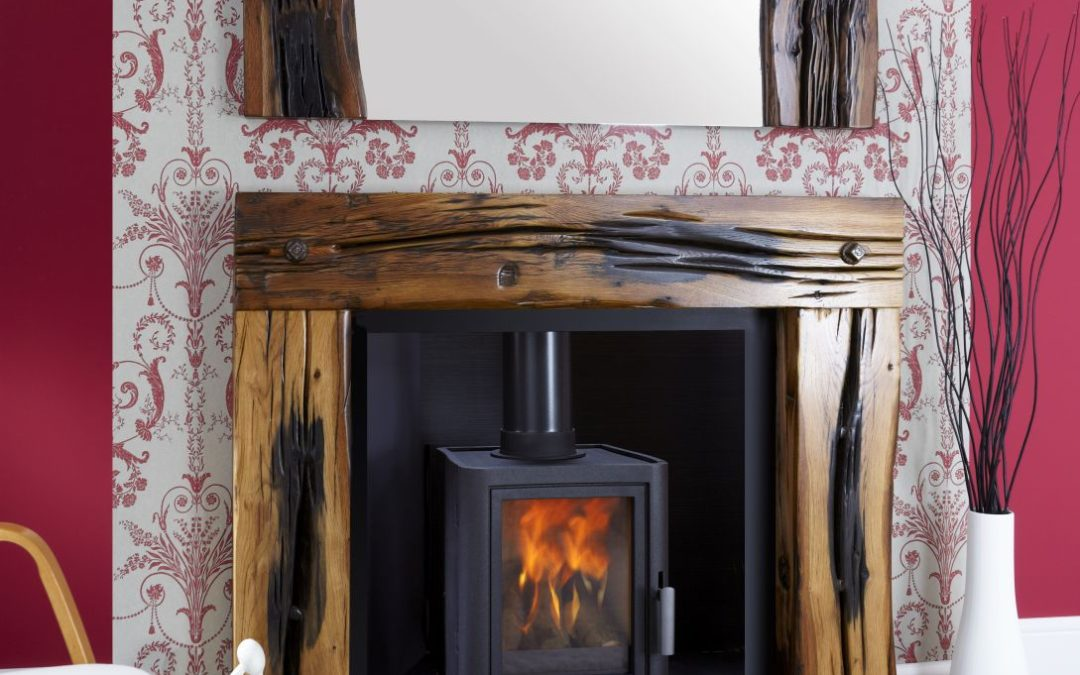 Barclay Reclaimed Timber Fire Surround