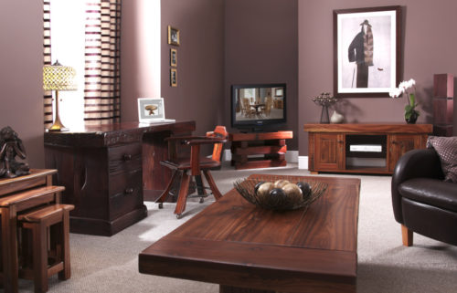 Executive Desk From Recycled Railway Sleepers