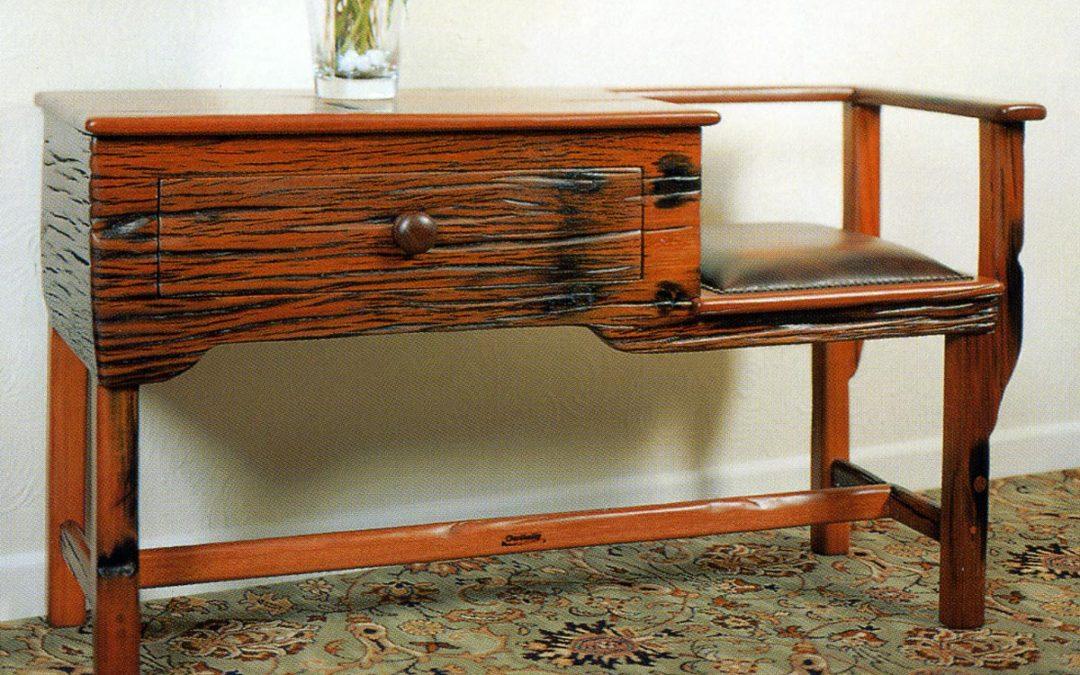 Bespoke Telephone Seat