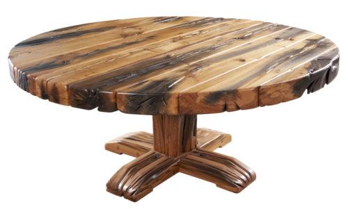 Reclaimed Sleeper Rotunda Table