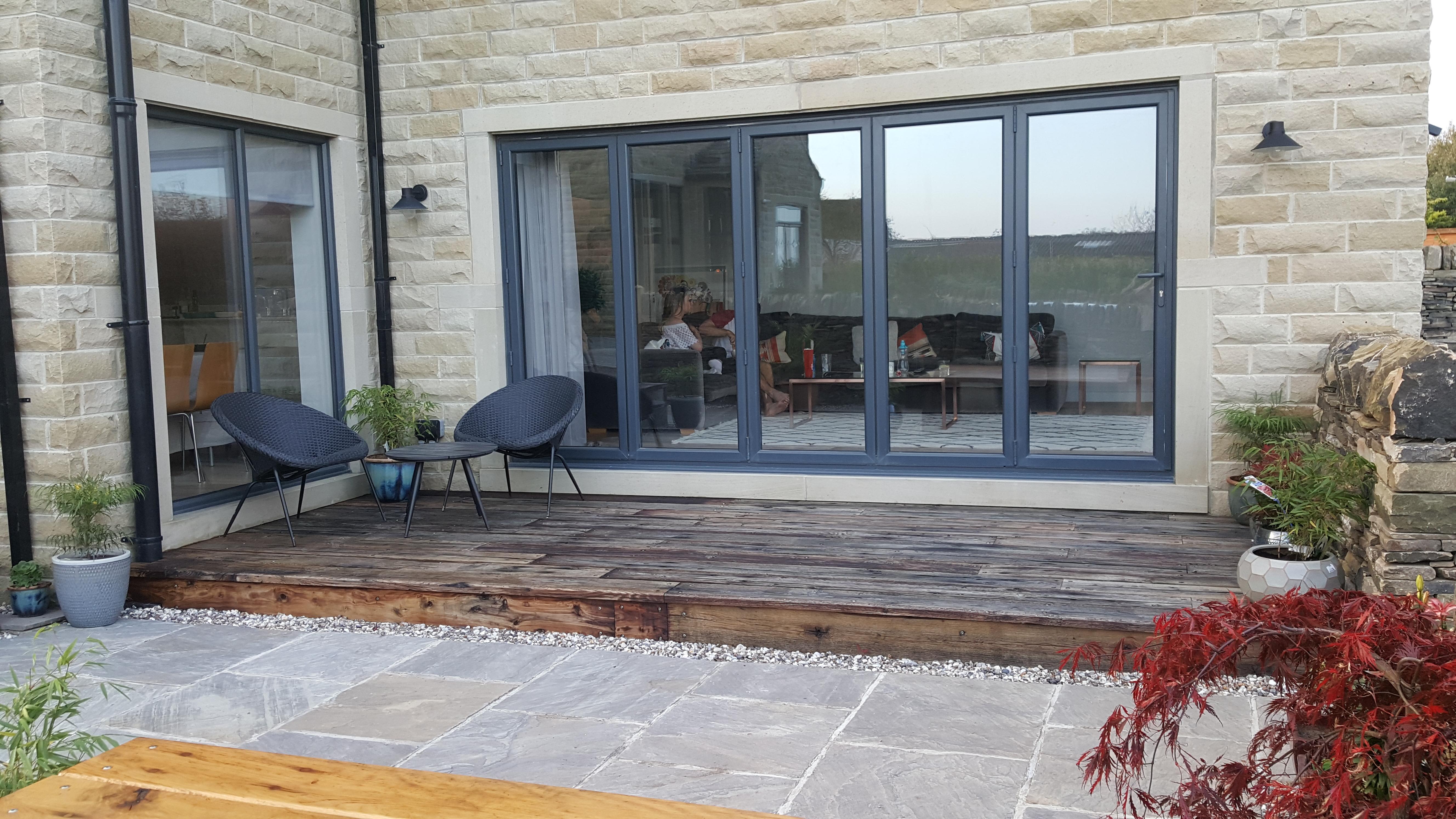 Beautiful functional patio