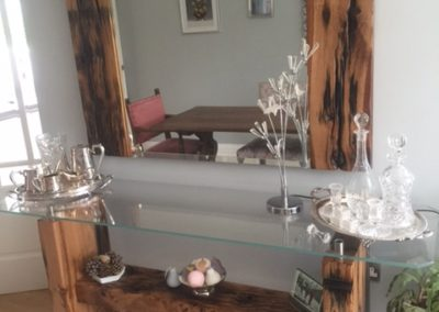 Glassic Console Table with mirror