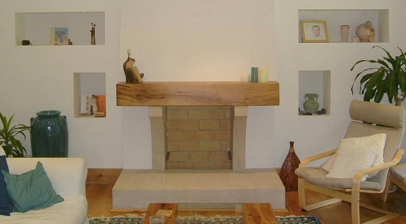 Oak Mantel Fireplace Beam Timbers