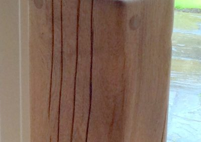French Oak with Danish oil finish
