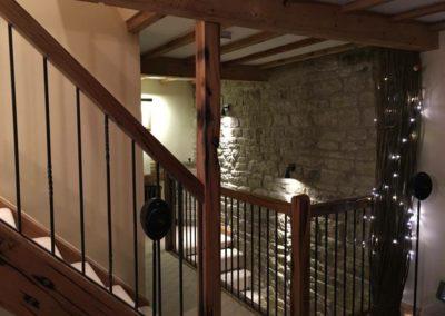 Staircase in oak