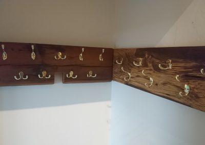 Coat Hooks in Sleeper timber